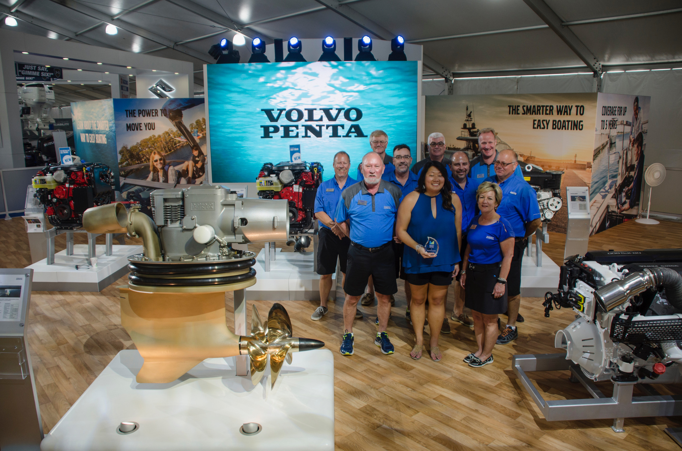 Miami Boat Show Honors Extraordinary Exhibitor Displays with