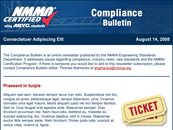 Compliance Bulletin newsletter