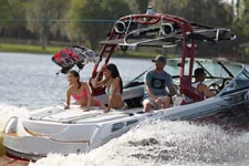 Teens Boating