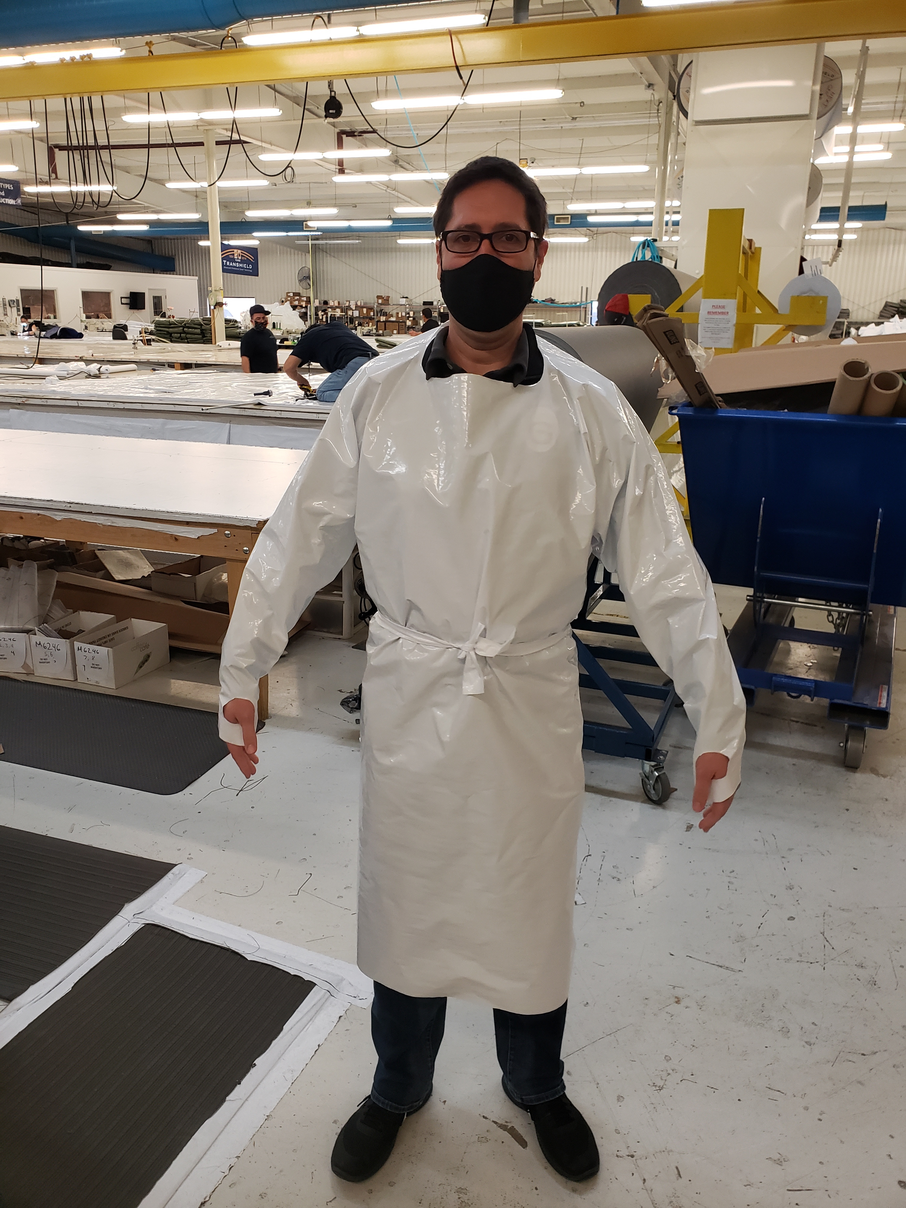 Boating Gives Back: Pivoting Production To Supply Local Hospitals With Protective Gowns And Curtains