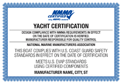 NMMA Yacht Certification